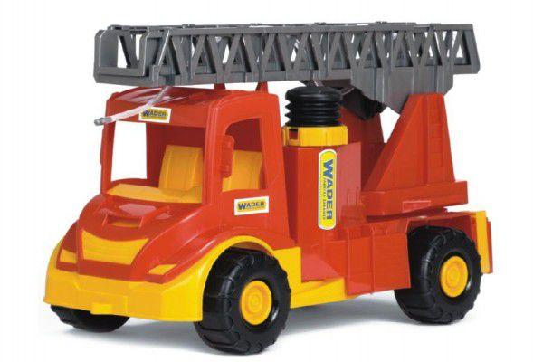 Wader Auto multitruck hasiči stříkací vodu plast