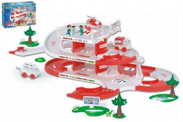 Teddies Kid Cars 3D Wader 47956 Nemocnice plast 4,8m