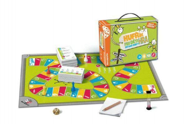 Teddies 47962 Kufřík/Kufr pro děti společenská hra v kufříku 28x20x6,5cm