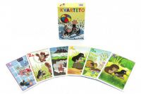Kvarteto Krtek 1 společenská hra - karty v papírové krabičce 6x9cm