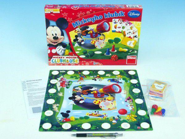 Mickeyho klubík společenská hra v krabici 33x23x3,5cm