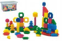 Stavebnice ježci 500dílků plast v plastové krabici 40x23x35cm Wader