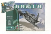 Stavebnice Dromader Vojáci Letadlo 22603 259ks v krabici 35x25,5x5,5cm