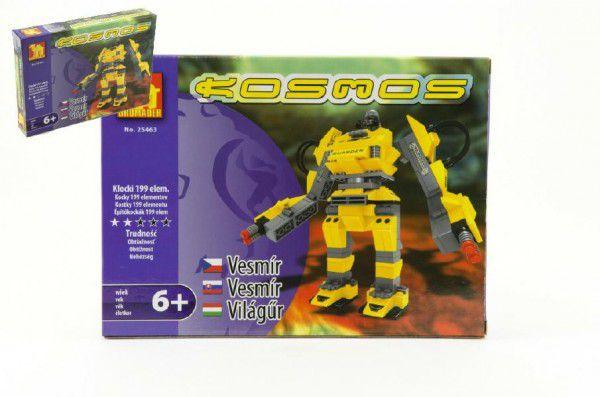 Teddies Dromader Kosmický Robot 25463 Stavebnice 199ks v krabici 25,5x18,5x4,5cm