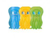 Lehátko chobotnice nafukovací 109x74cm asst 3 barvy v sáčku 3-10 let