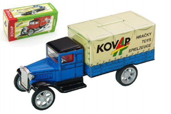 Pokladnička Auto Hawkeye plech 18cm 1:32 v krabičce