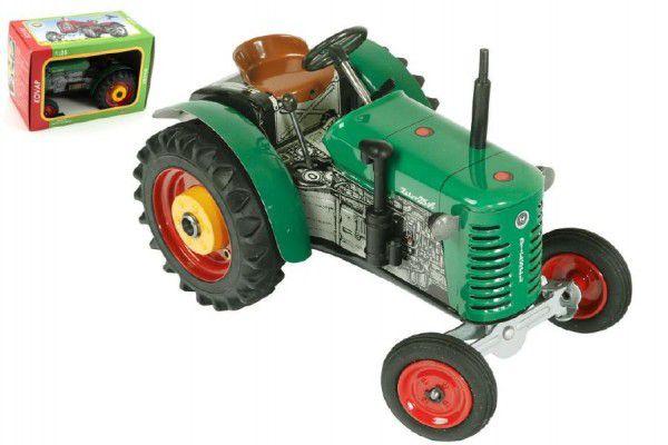 Teddies Kovap Zetor 48124 Traktor 25A zelený na klíček kov 15cm 1:25 v krabičce