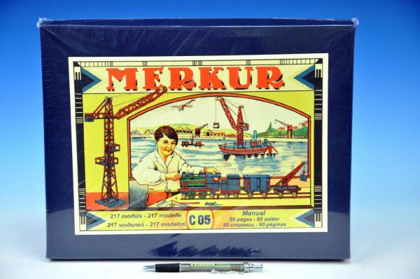MERKUR Classic C05 Stavebnice 217 modelů v krabici 36x28x6cm