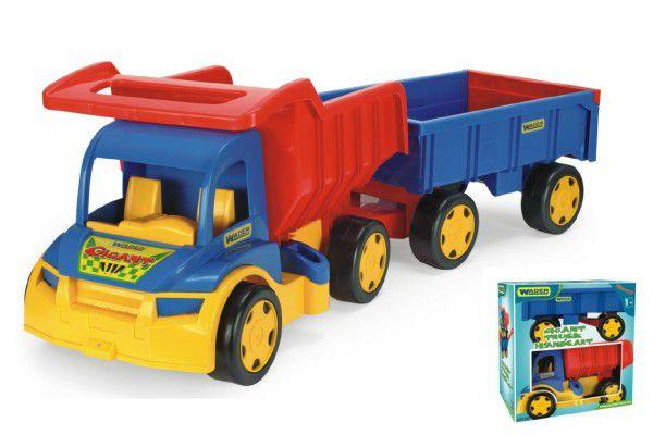 Wader Auto Gigant Truck sklápěč dětská vlečka plast 55cm