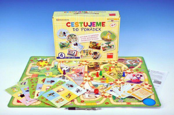 Cestujeme do pohádek společenská hra v krabici 31x23x8cm