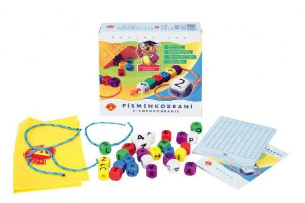 Písmenkobraní společenská hra v krabici 20x18,5x5,5cm