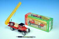 Auto Hawkeye hasiči 94 žebřík kov 18cm 1:32 v krabičce Kovap