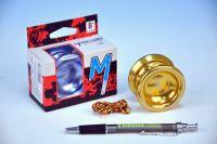 Jojo T8 - Magic shadow Magicyoyo 5,5x4cm hliník/kov s ložiskem - 2 barvy