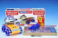 Stavebnice Boffin Auto elektronická 63 projektů na baterie 50ks v krabici 52x24x14cm