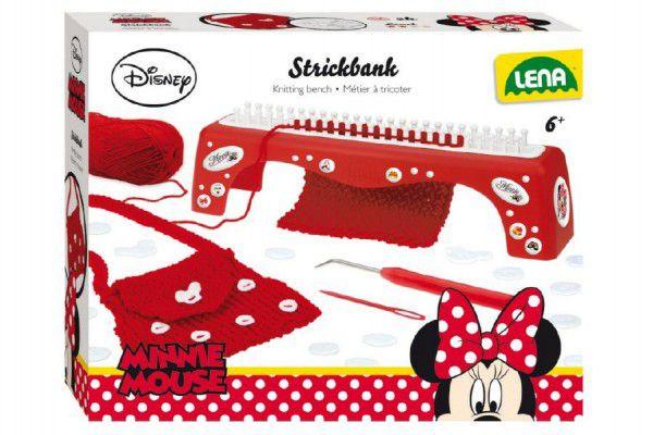 LENA 42001 Pletací stůl Minnie Walt Disney