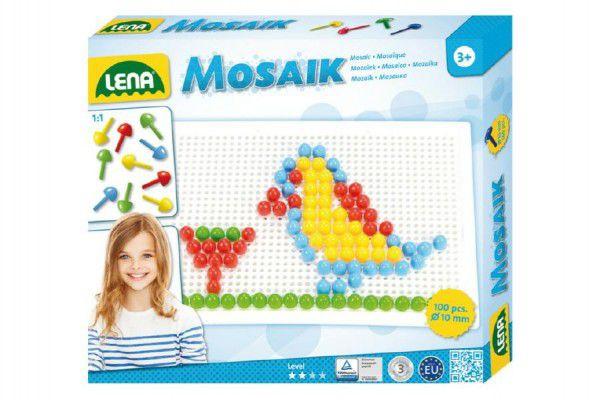 Lena 35603 Mozaika malá klobouček 10mm hladký