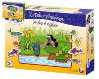 Krtek rybářem ryby/rybář společenská hra v krabici 30x20x6cm