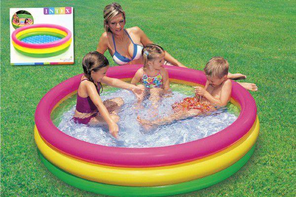 Bazén nafukovací 114x25cm v krabici
