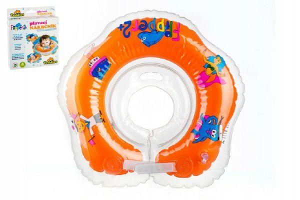 Plavací nákrčník Flipper/Kruh v krabici 17x20cm 24m+