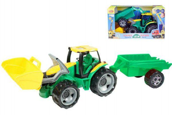 LENA Traktor se lžící 60cm a přívěsem 45cm