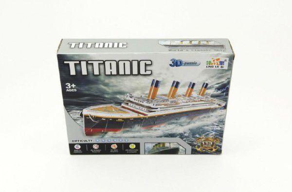 Teddies 3D Puzzle Pěnové Titanic 113 dílků