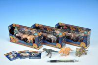 Dinosaurus mini plast 5-7cm asst 3ks v krabičce