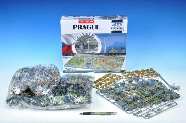 OEM Puzzle Praha City 4D 1200dílků