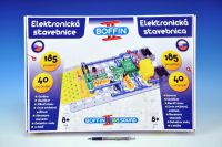 Stavebnice Boffin II. 185 elektronická 185 projektů na baterie 40ks v krabici 50x34x7cm