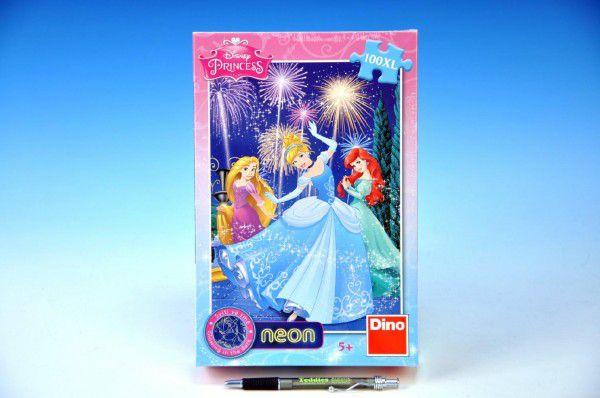 Teddies Princezny svítící ve tmě 33x47cm 100 dílků