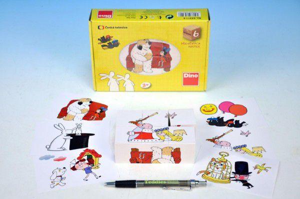 Dino Toys Kubus 6 k. pohádky