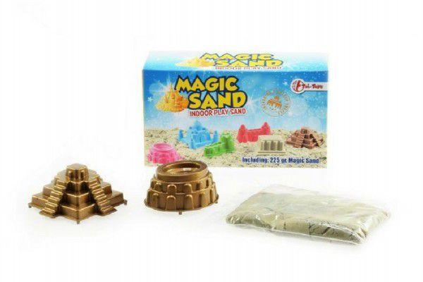 Teddies Magický písek 225g + 2 formičky asst 3 barvy v krabičce