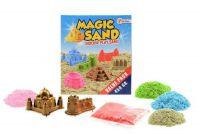 Magický písek 450g + 2 formičky v krabici 18x20x6cm