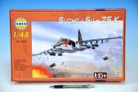 Model Suchoj SU-25 K 1:48 v krabici 35x22x5cm