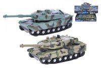 Tank 4x4 plast 18cm na setrvačník na baterie se světlem a zvukem - 2 druhy