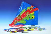 Drak létající plast 72x68cm - 6 druhů