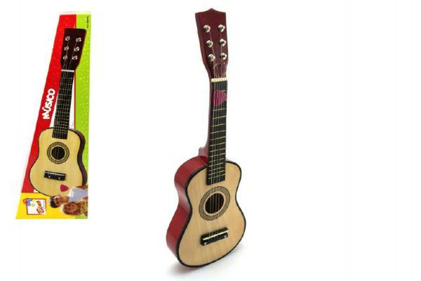 Levně Teddies Kytara klasická dřevěná