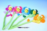Květina plyš 45cm asst 5 barev