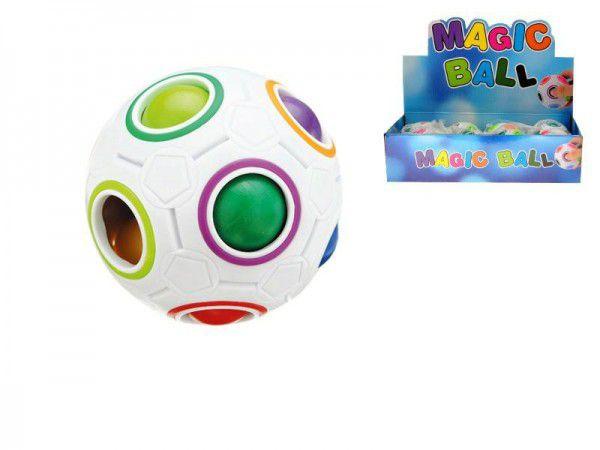 Hlavolam míček plast 7cm v síťce 12ks v DBX Rock David