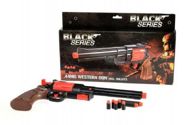 Teddies pistole na pěnové náboje Black Series 30cm