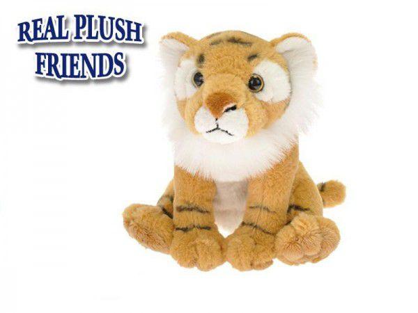 Tygr plyšový 15 cm