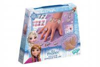 Šperky + obtisky na nehty Ledové království/Frozen v krabičce
