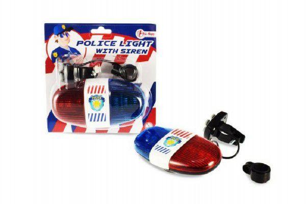 Teddies Policejní světlo na kolo