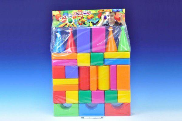 Teddies Kostky velké 30 ks plast v sáčku