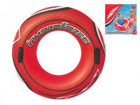 Kruh nafukovací s úchyty průměr 102cm, vnitřní průměr 40cm v krabici 10+