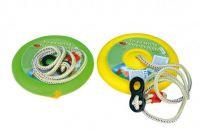Houpačka Jojo kruh na zavěšení průměr 27cm nosnost 50kg asst 3 barvy