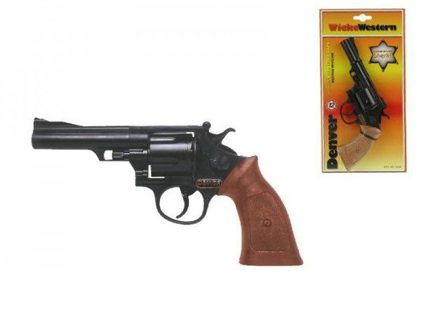 Pistole Kapslovka Denver 22cm 12 ran na kartě