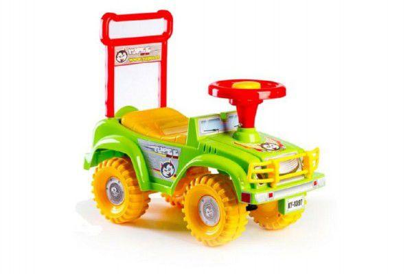 Yupee auto Jeep zelené