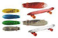 Skateboard 60cm plast/kov asst