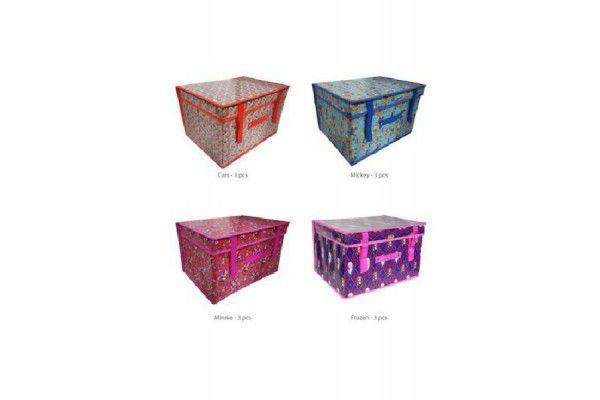 Koš/Krabice na hračky Disney 30x40x25cm - 4 druhy