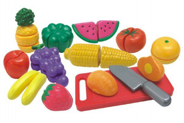 Teddies Ovoce a zelenina krájecí s náčiním